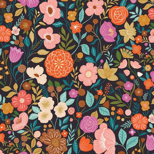 *Pre-Order* Dashwood Studio Good Vibes Flowers on Black (£3.25fq/£13.00pm)