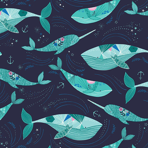 Dashwood Studios Into The Blue - Whales and Narwhals