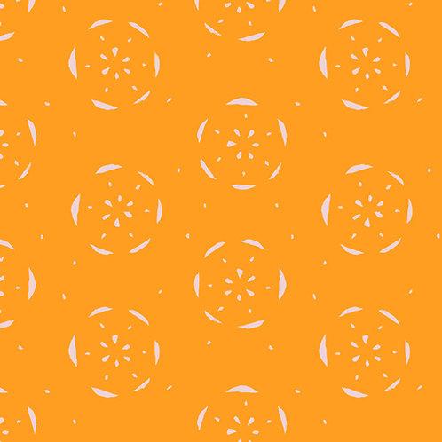 Floralish Art Gallery Fabrics - Citrus Tangerina