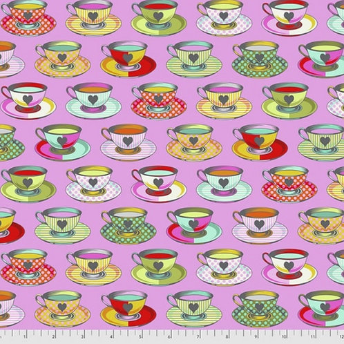 Tula Pink Curiouser and Curiouser Tea Time in Wonder - £3.75fq/£15pm