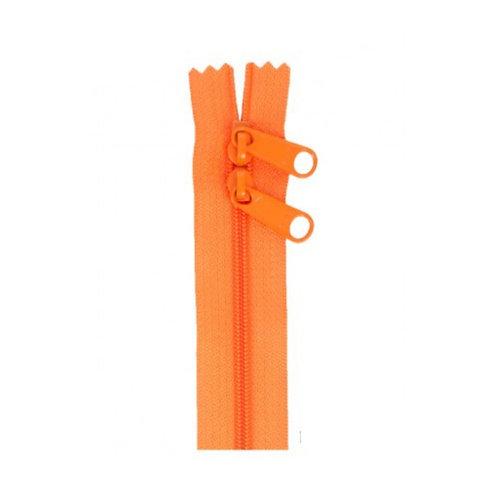 "30"" Double Slide Bag Zipper Pumpkin By Annie"