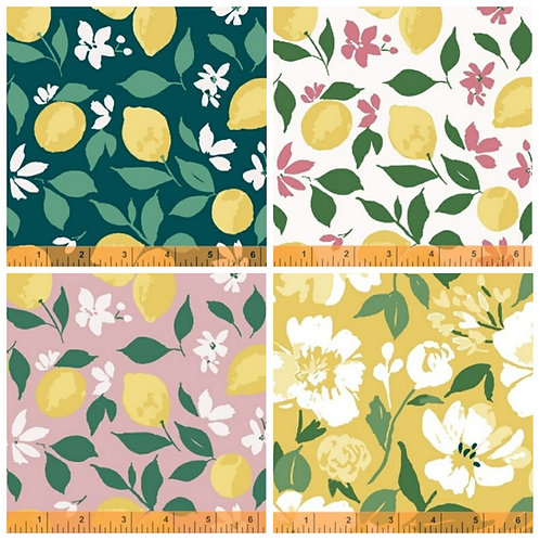 Windham Fabrics Pink Lemonade Fat Quarter Bundle