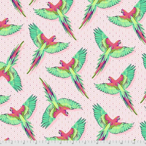 *Pre-Order* Tula Pink Daydreamer Macaw Ya Later Dragonfruit (£3.75fq/£15pm)