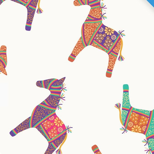 Craft Cotton Co Indian Horses from the New Deli Collection by Debbie Shore