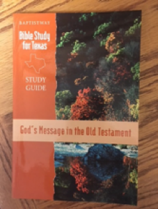 God's Message in the Old Testament
