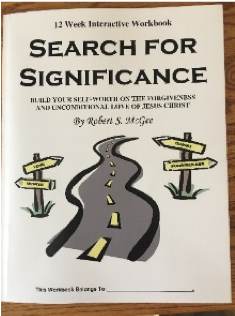 The Search for Significance Workbook by Robert McGee