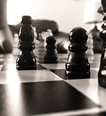Canva - Grayscale Photography Of Chess B
