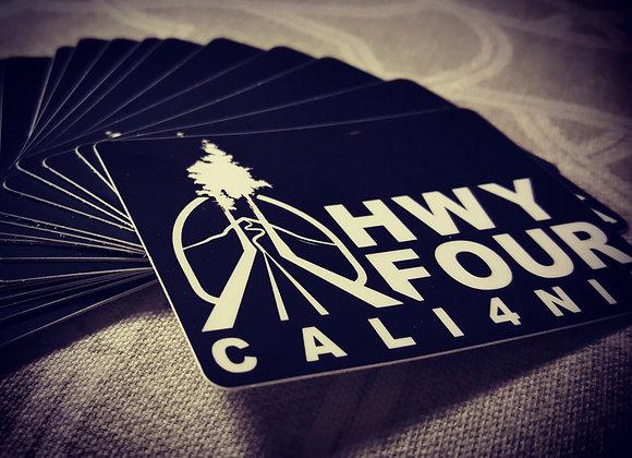 HwyFourCali4nia sticker