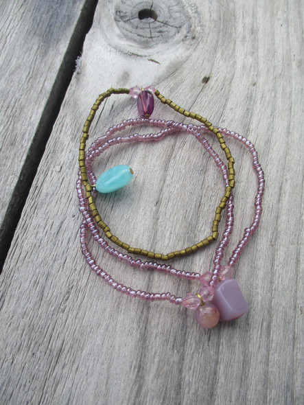 bracelets multiples perles