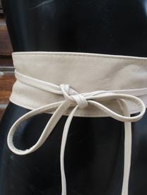 ceinture souple taille haute