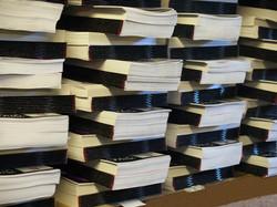 Books at Golos Printing