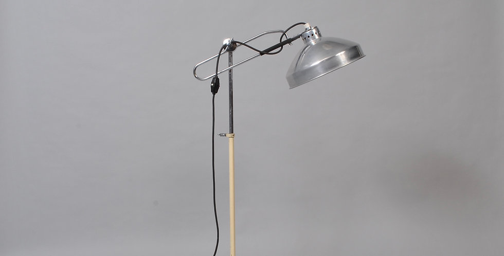 Midcentury Industrial Floor Lamp