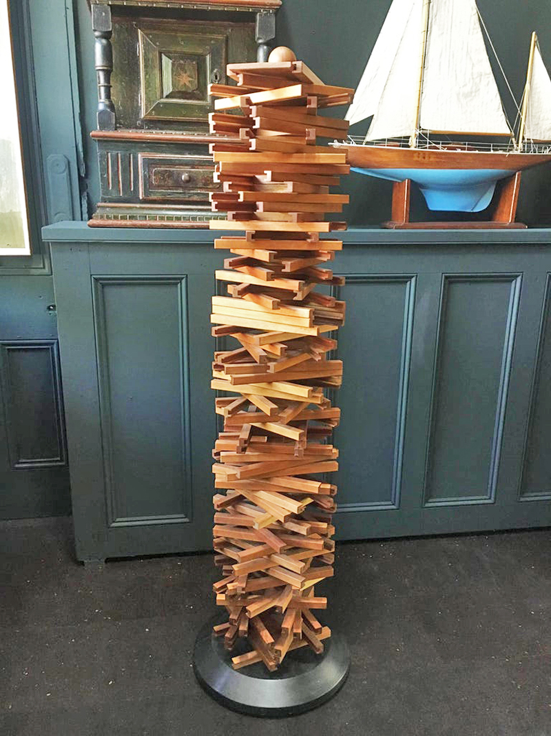 Unique Handcrafted CD Tower, Denmark, La