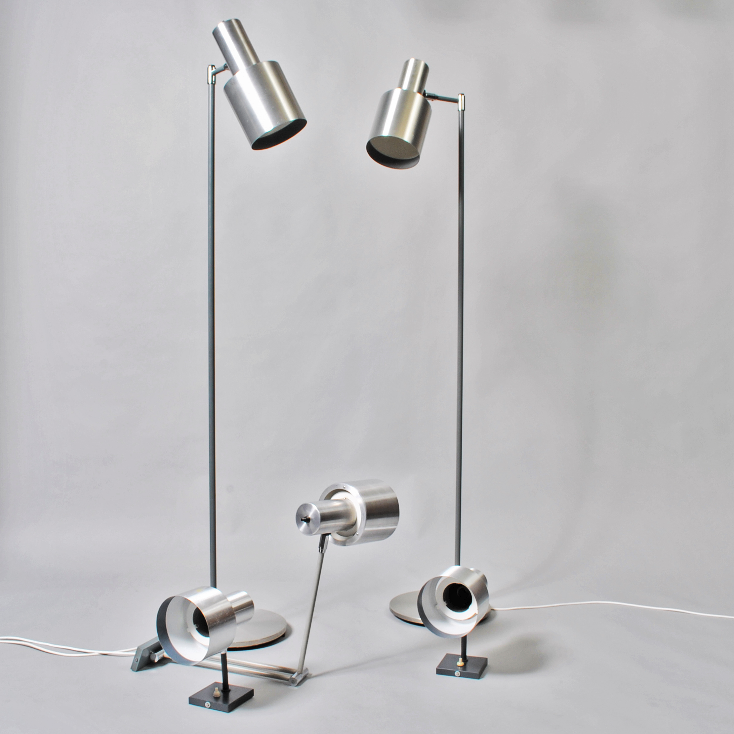 Set of Jo Hammerborg lamps for Fog&Morup