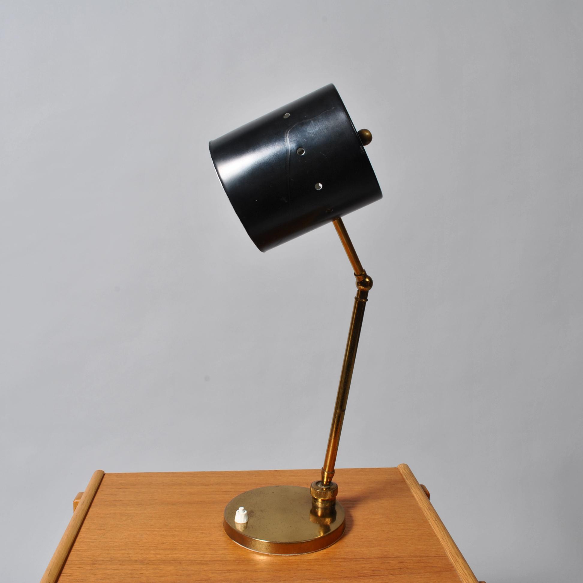 Midcentury Italian desk lamp, 1960s