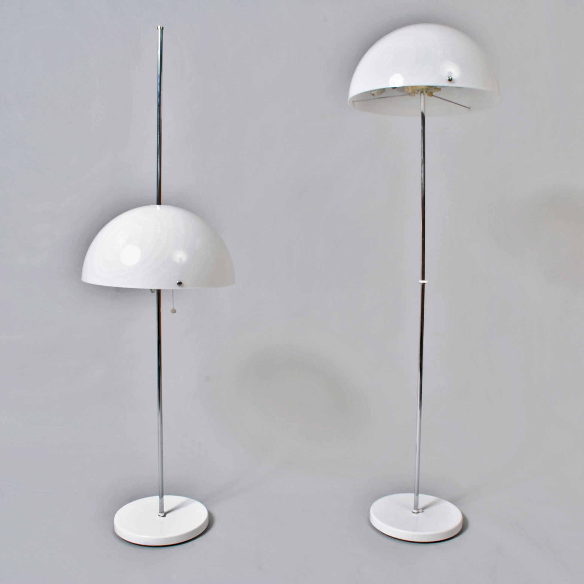 Pair of Mushroom Floor lamps Fagerhult S