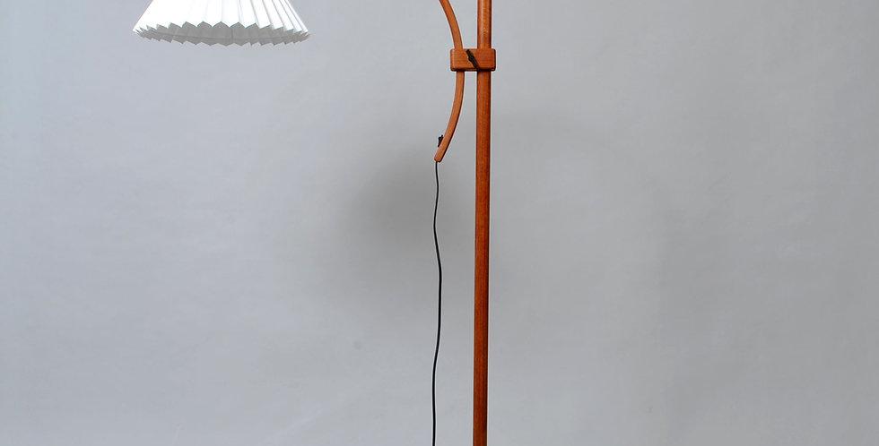 Midcentury Adjustable Teak Floor Lamp by Domus Denmark, 1970s
