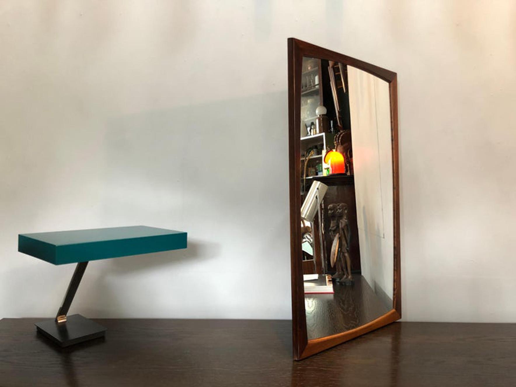 Danish Midcentury Mirror, Aksel Kjer
