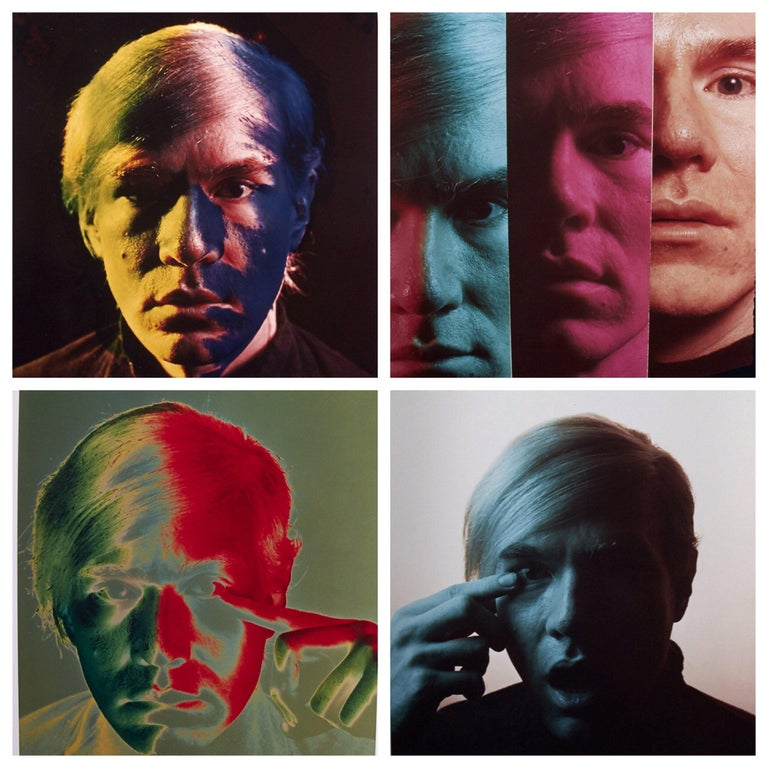 Andy Warhol Portraits by Philippe Halsma