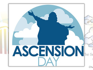Easter for 2021 comes to an end with Ascension Day next week