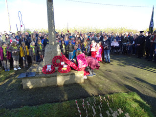 Remembrance Day 2019 in Potton