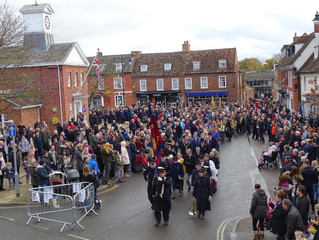 Potton Remembers, in their Hundreds