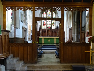 Church repairs after the lead theft, are finally finished!