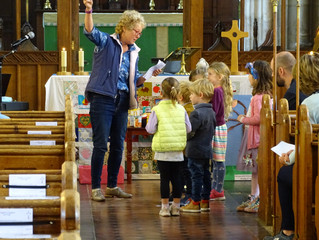 Friends and Family Service returns at last at St Mary's!