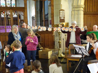 Friends and Family service for Advent