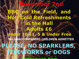 Church Bonfire Night 2019