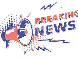 Flash News. Next week's Parish Lunch cancelled