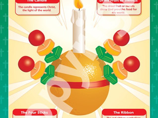 Christingle Service on Sunday December 8th in St Mary's Church at 4.30pm