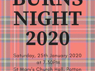Burns Night - more details