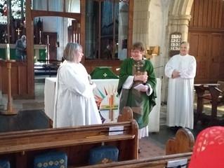Rev Gill Smith has a Birthday today