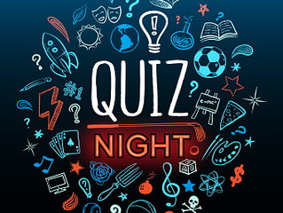 Services, a Quiz Night and other events.