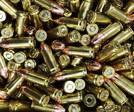 9mm 115 Grain FMJ Ammunition (CALL FOR INVENTORY)
