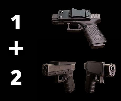 MagHock Holster and 2 Gun Magnets