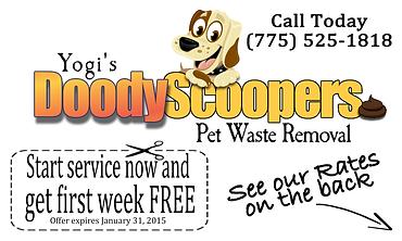 @Doody Scoopers 5x8 door card coupon 2.p