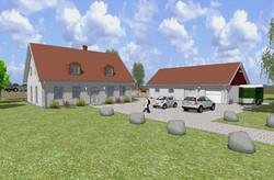 Villa Dacke och stall 01