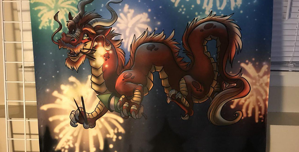 New Years Dragon