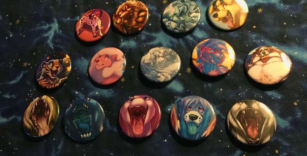 1-inch Buttons