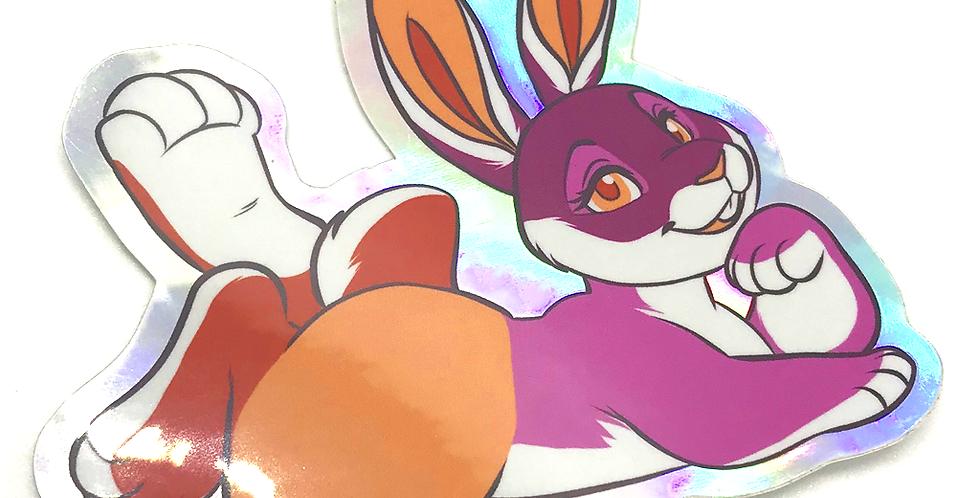 Les-bunny Sticker