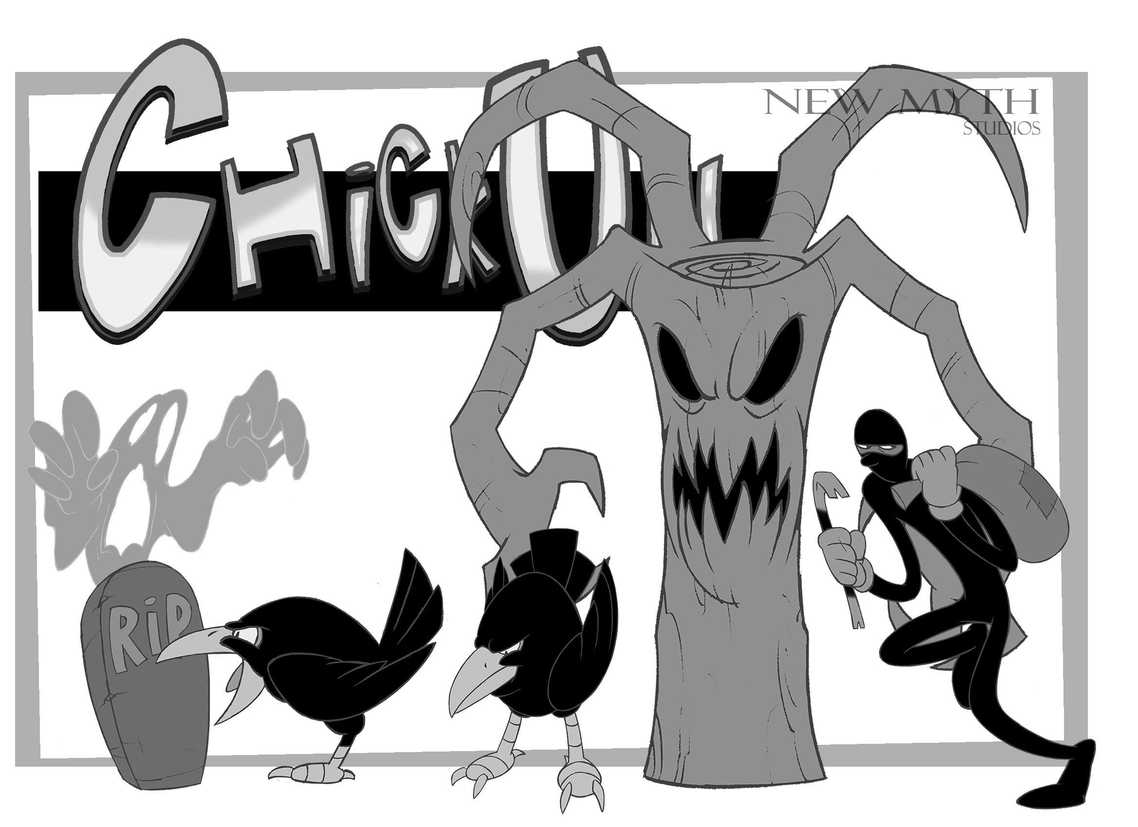 ChickUn enemies lineup