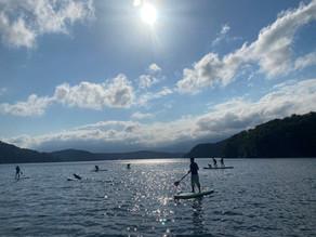 今シーズンの野尻湖SUPは営業を終了しました。