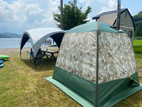 野尻湖SUPは9月末日まで営業中!9月はSUP&テントサウナで非日常体験