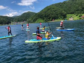 野尻湖でのSUP体験は7月から開催・予約受付開始