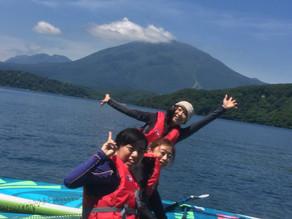 6月1日より野尻湖SUP始まります。