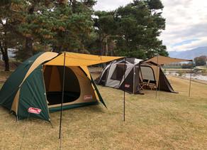 キャンプワークショップご案内・ビギナープラン(ファミリー、グループ向け)
