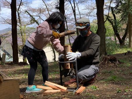 5月5日(子供の日)スタイルキャンプ Vol.5「子供が主役!薪火でクッキングと薪木遊び」