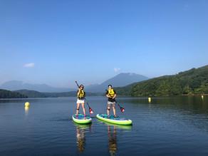 2021シーズンの野尻湖SUPは6月からオープン!
